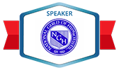 Speaker at the National Guild of Hypnotists Convetion
